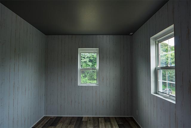 エイジング加工を施 した室内